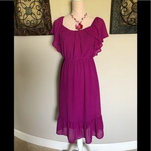 Fusschia Dress